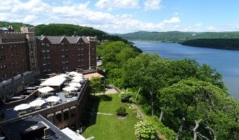 Zulu Time Rooftop Bar & Lounge at The Thayer Hotel at West Point